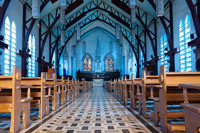 Audio-Lösungen für Kirchen, Kirchenbeschallung