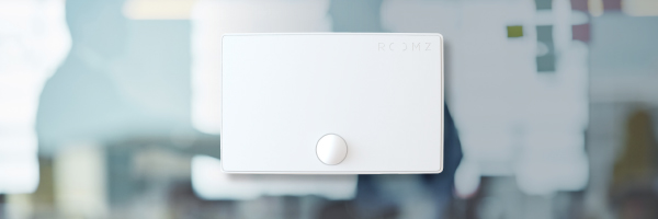 Roomz Sensor im Büro